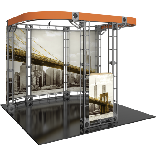 Helios Orbital Express Truss 10ft Modular Exhibit