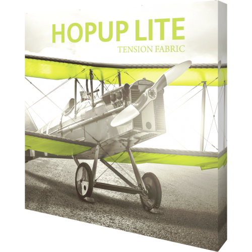 Hopup Lite 8ft Straight Full Height Tension Fabric Display