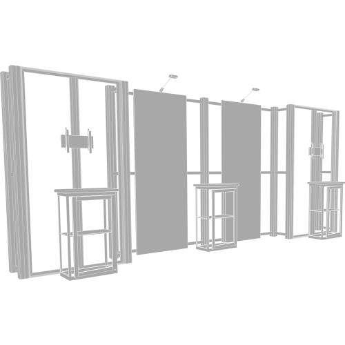 Hybrid Pro 20ft Modular Backwall Kit 16