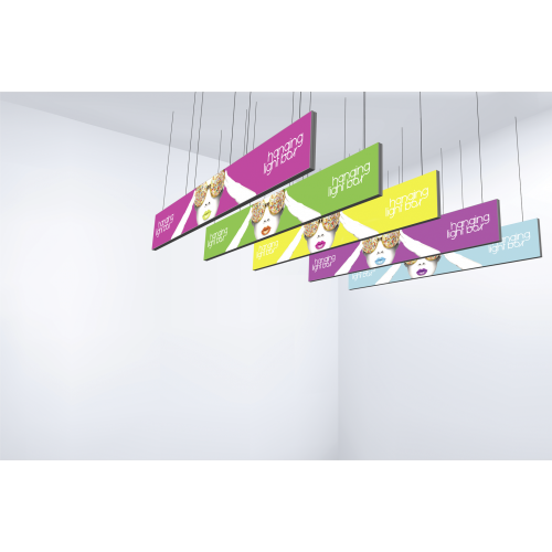 Vector Frame Hanging Light Box 15ft x 4ft