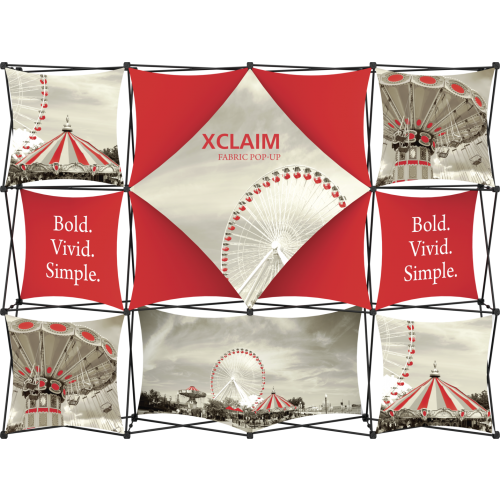 Xclaim 10ft Fabric Popup Display Kit 06
